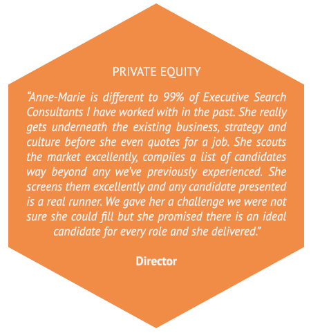 testimonial from private equity company