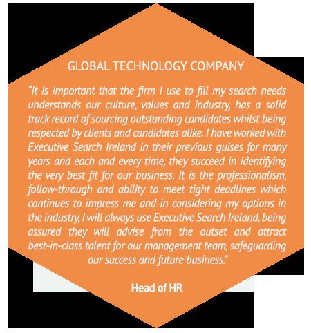 testimonial from global tech company