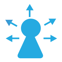 talent mapping icon